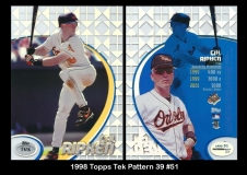 1998 Topps Tek Pattern 39 #51