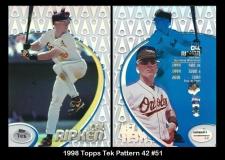 1998 Topps Tek Pattern 42 #51