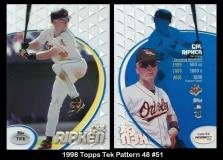 1998 Topps Tek Pattern 48 #51