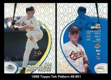 1998 Topps Tek Pattern 49 #51