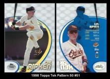 1998 Topps Tek Pattern 50 #51