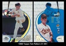 1998 Topps Tek Pattern 51 #51