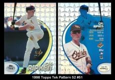 1998 Topps Tek Pattern 52 #51