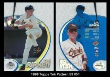 1998 Topps Tek Pattern 53 #51