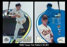 1998 Topps Tek Pattern 54 #51