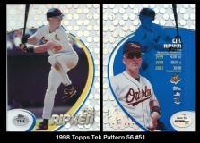 1998 Topps Tek Pattern 56 #51