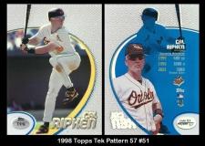1998 Topps Tek Pattern 57 #51