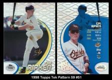 1998 Topps Tek Pattern 59 #51