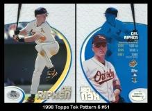 1998 Topps Tek Pattern 6 #51