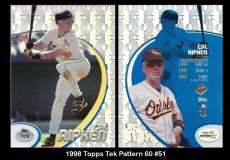1998 Topps Tek Pattern 60 #51