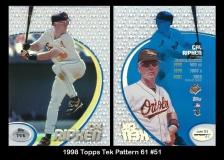 1998 Topps Tek Pattern 61 #51