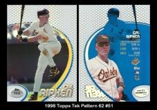 1998 Topps Tek Pattern 62 #51