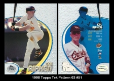 1998 Topps Tek Pattern 63 #51