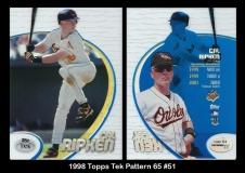 1998 Topps Tek Pattern 65 #51