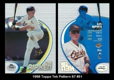 1998 Topps Tek Pattern 67 #51