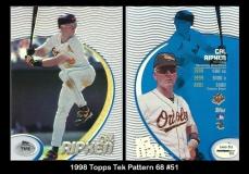 1998 Topps Tek Pattern 68 #51