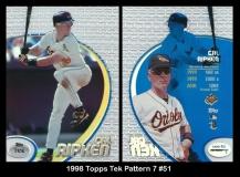 1998 Topps Tek Pattern 7 #51
