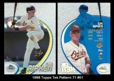 1998 Topps Tek Pattern 71 #51