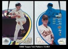 1998 Topps Tek Pattern 72 #51