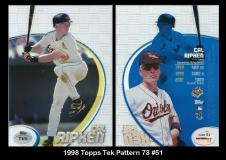1998 Topps Tek Pattern 73 #51