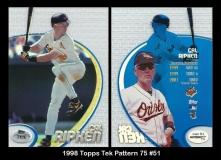 1998 Topps Tek Pattern 75 #51
