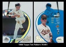 1998 Topps Tek Pattern 76 #51