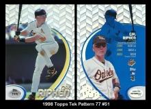 1998 Topps Tek Pattern 77 #51