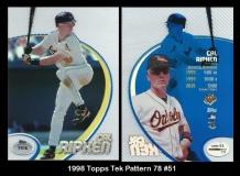 1998 Topps Tek Pattern 78 #51