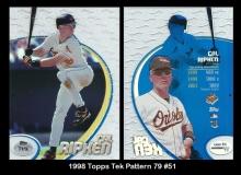 1998 Topps Tek Pattern 79 #51