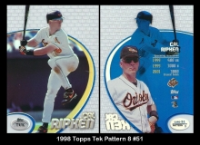 1998 Topps Tek Pattern 8 #51