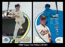 1998 Topps Tek Pattern 80 #51