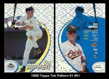 1998 Topps Tek Pattern 81 #51
