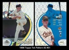 1998 Topps Tek Pattern 82 #51