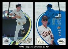 1998 Topps Tek Pattern 83 #51