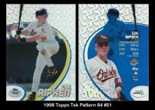 1998 Topps Tek Pattern 84 #51