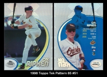 1998 Topps Tek Pattern 85 #51