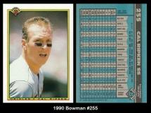 1990 Bowman #255