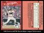 1990 Donruss #676B Recent Major League Performance