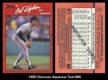 1990 Donruss Aqueous Test #96