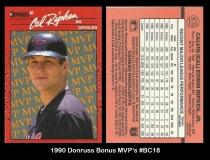 1990 Donruss Bonus MVPs #BC18