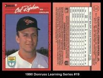 1990 Donruss Learning Series #19