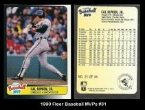 1990 FLeer Baseball MVPs #31