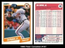 1990 Fleer Canadian #187