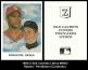 1990 Z-Silk Cachets Lithos #NNO Ripken Pendleton Cardinals