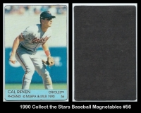 1990 Collect the Stars Baseball Magnetables #56