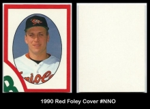 1990 Red Foley Cover #NNO