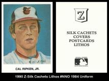 1990 Z-Silk Cachets Lithos #NNO 1984 Uniform