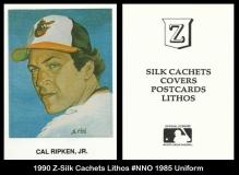 1990 Z-Silk Cachets Lithos #NNO 1985 Uniform