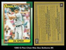 1990-O-Pee-Chee-Wax-Box-Bottoms-N