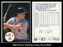 1990 Kenner Starting Lineup Cards #64A